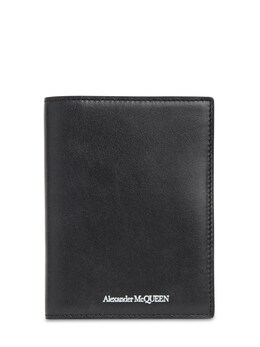 Кожаная Обложка На Паспорт С Логотипом Alexander McQueen 72IA9V018-MTAwMA2