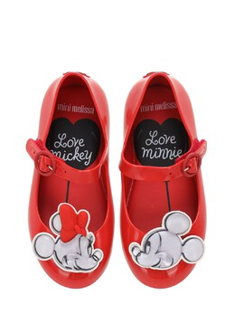 "Резиновые Балетки ""minnie & Mickey Mouse"" Mini Melissa 72I91Z010-MDEzNzE1"
