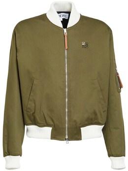 Куртка-бомбер Из Канваса Loewe 72I6HC002-NDQzMA2