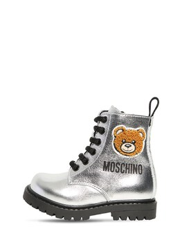 Кожаные Ботинки Moschino 72I1W4037-VkFSIDE1