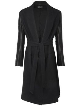Пальто Из Натуральной Шерсти И Хлопка Ann Demeulemeester 72I05C014-MDk50