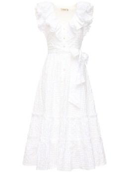 Платье С Оборками Temperley London 71IAEY018-V0hJVEU1