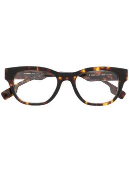 Burberry Eyewear очки в квадратной оправе BE23063002