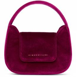 Simon Miller Pink Velvet Mini Retro Bag S835-9047-92434