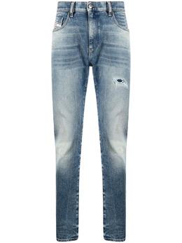 Diesel узкие джинсы D-Strukt средней посадки A02221009MW
