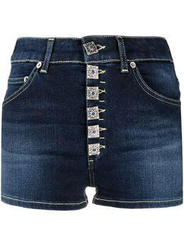 Dondup джинсовые шорты с пуговицами DP277BDS0290BB5