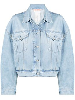 Acne Studios укороченная джинсовая куртка A90351