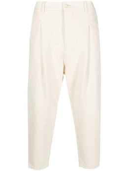 Drole De Monsieur укороченные джинсы со складками SS21BP006BG