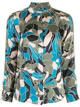 Equipment рубашка с цветочным принтом 7353E231