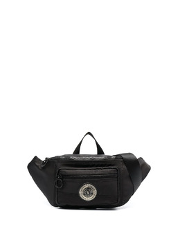 Versace Jeans Couture поясная сумка с нашивкой-логотипом E1YWAB1371890