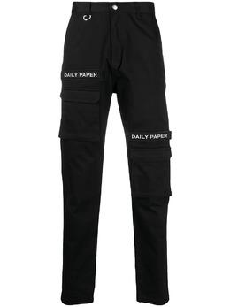 Daily Paper узкие брюки с логотипом NOSB01