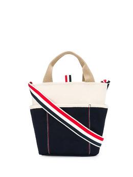 Thom Browne сумка-тоут с логотипом MAG273A07164