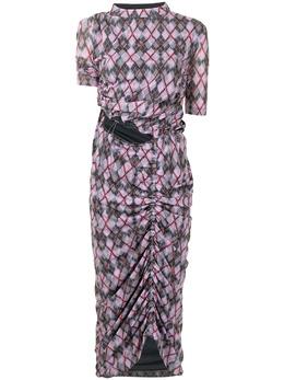 Y / Project платье с узором WTSDRESS43S20