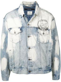 Ksubi джинсовая куртка с выбеленным эффектом 5000005211