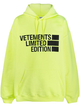 Vetements худи оверсайз с логотипом UE51TR820Y