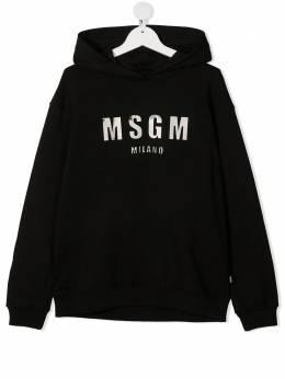 MSGM Kids худи с логотипом MS027388