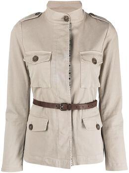 Bazar Deluxe куртка с поясом в стиле сафари S6672000