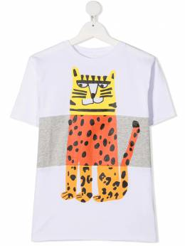 Stella McCartney Kids футболка с логотипом 602241SQJ21