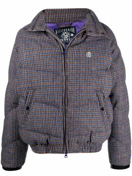 Billionaire Boys Club Heather checked padded jacket B20407