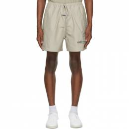 Essentials Beige Volley Shorts 160HO202023F