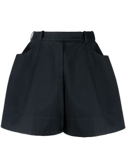 Simone Rocha короткие шорты широкого кроя 40100410NAVY