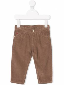 Knot five pockets corduroy trousers CA21BC2342