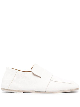Marsell square-toe leather loafers MW6383188