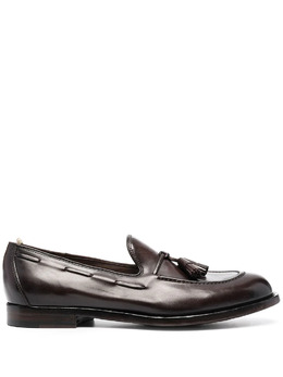 Officine Creative slip-on leather loafers OCUIVY0001AERCAD215