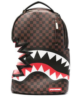 Sprayground bite-detail checkerboard backpack 910B3367NSZ