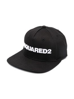 Dsquared2 Kids кепка с вышитым логотипом DQ03YMD00YT
