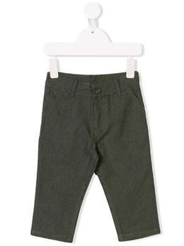 Knot Island check trousers CA25SF2342