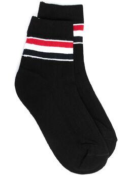 Thom Browne носки с полосками RWB FAS103AY3013