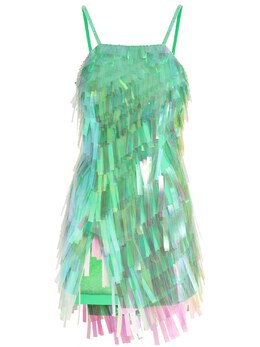 Мини-платье С Пайетками The Attico 73IXJE074-MDE30