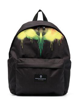 Marcelo Burlon Kids Of Milan рюкзак с логотипом Wings 95129000