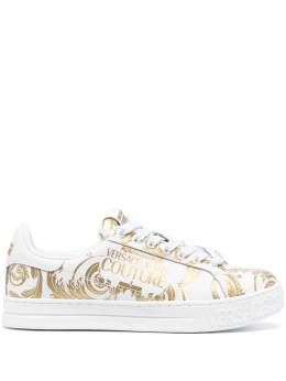 Versace Jeans Couture baroque-pattern print sneakers EE0YWASK9E71973
