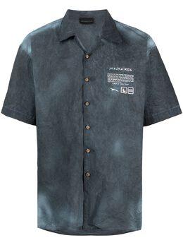 Mauna Kea рубашка с логотипом MKU143
