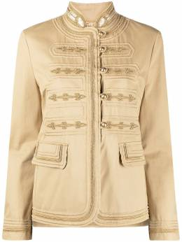 Ermanno Scervino buttoned fitted jacket D380I303RPCQ