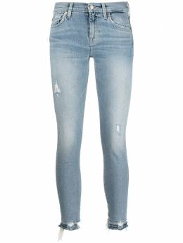 7 For All Mankind mid-rise skinny jeans JSVU1200SD00