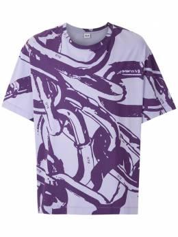 Alg футболка оверсайз с принтом 0120019