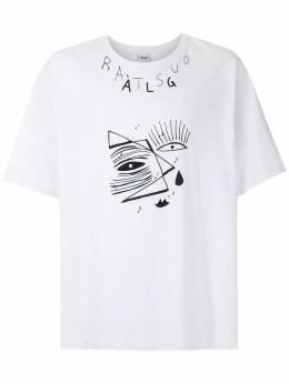 Alg футболка оверсайз Ratsuo Eyes 0120024