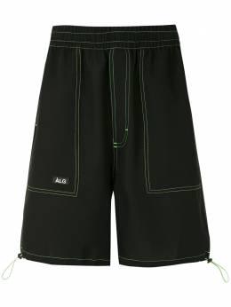 Alg шорты-бермуды с контрастной строчкой 0120053