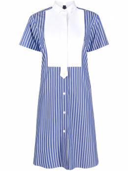 Sacai платье-рубашка в полоску 2105409