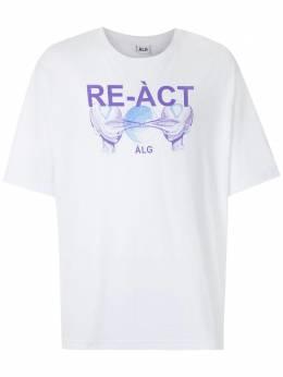 Alg футболка оверсайз Re-act 0120021