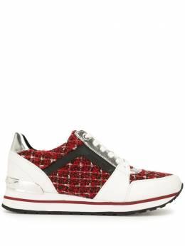 MICHAEL Michael Kors кроссовки Billie с твидовыми вставками 43R1BIFS5D