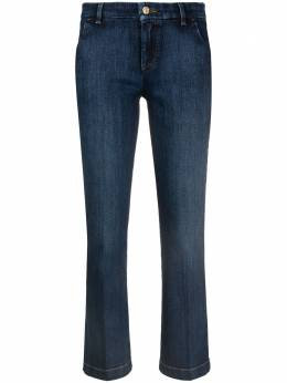 7 For All Mankind cropped straight-leg jeans JSYZ44A0DN00