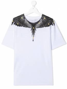 Marcelo Burlon Kids Of Milan футболка с принтом Wings 11140010