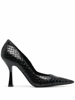 Just Cavalli туфли с тиснением под кожу крокодила S09WL0096P3918