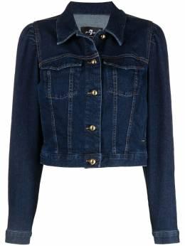 7 For All Mankind cropped denim jacket JSK4B610AM00