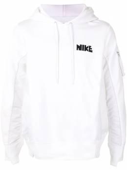 Nike деконструированное худи с логотипом CW2419100