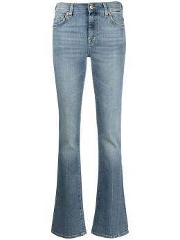 7 For All Mankind mid-rise straight leg jeans JSWBB580LG00